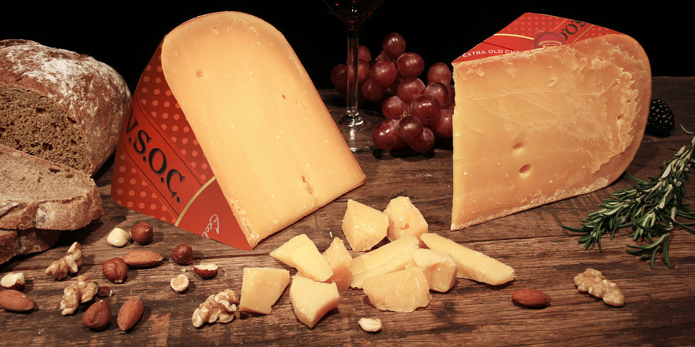 Red label cheese